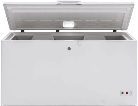 ge fcmslww   manual defrost garage ready chest