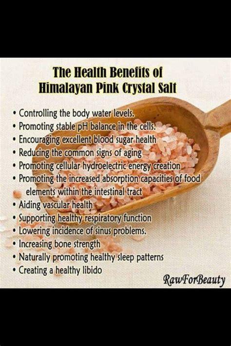sea salt l benefits himalayan sea salt benefits good to know pinterest