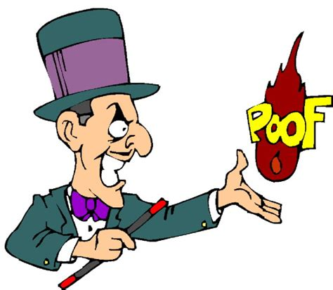Clipart Magic magic tricks clip