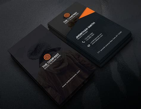 print ready business card template free print ready corporate business card template titanui