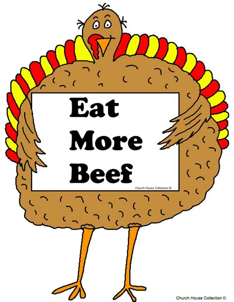 eats turkey eat beef turkey clipart clipartxtras