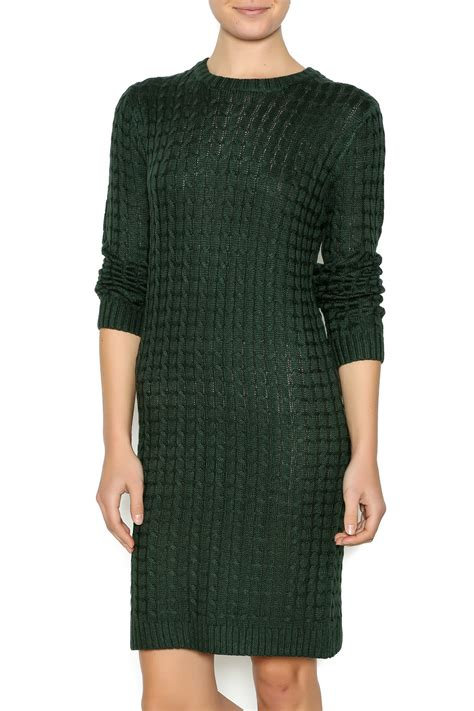knitted dresses cable knit sweater dress shoptiques