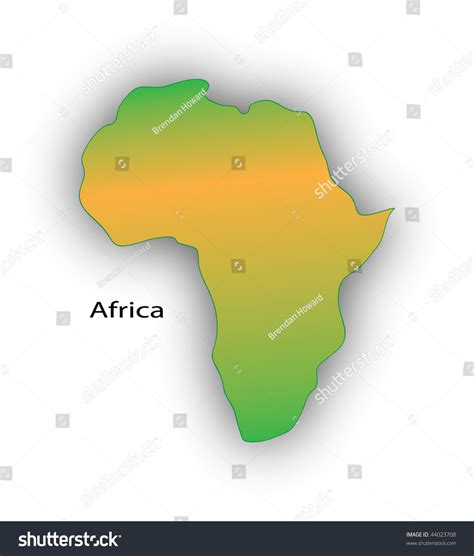 educational map snap africa africa educational map template stock photo 44023708