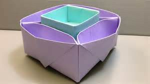 Origami Desk Organizer Origami Desk Organizer Or Snack Dish For School Or