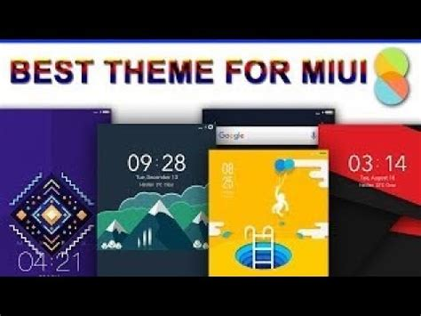 best themes in mi best top theme for mi phones xiomi theme one of these