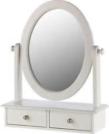 White dressing table mirrors