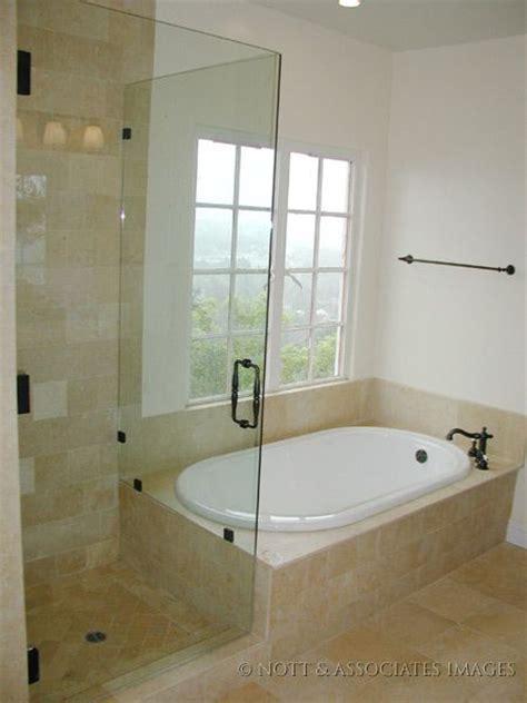 shower next to bath shower next to tub design frameless shower enclosure and