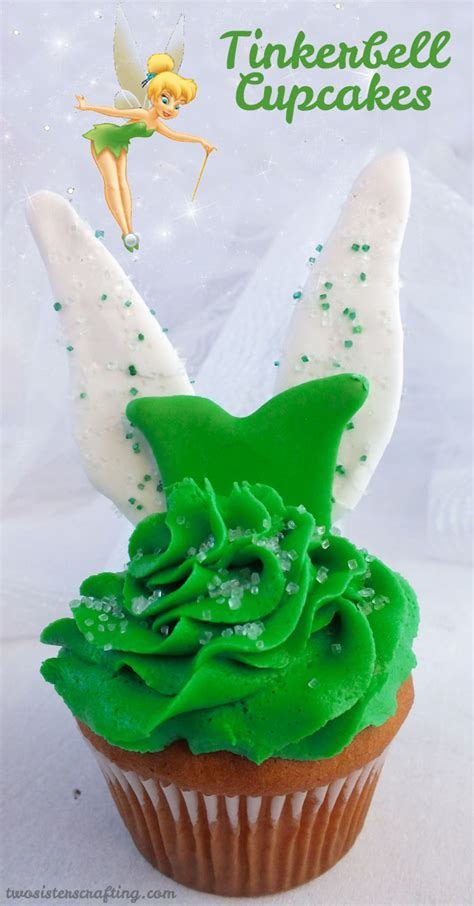 tinkerbell cupcakes  sisters