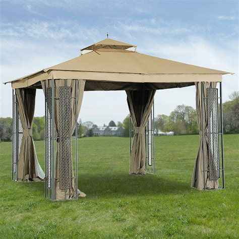 garden gazebo canopy rona gazebo canopy replacement garden winds canada