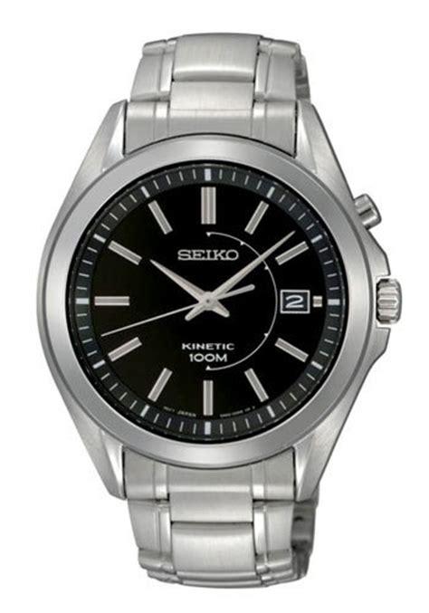 Seiko Kinetic Ska591p1 Power Button Stainless Steel Jam Pria Ska591 s watches seiko kinetic power 100m date with power