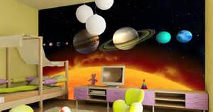 contemporary boys bedroom space wall murals design ideas space wall murals uk images