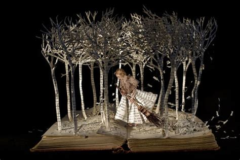 libro into the forest fascinating book sculptures by various artists designrfix com