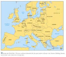 Map Of Europe 1918 by Gallery For Gt 1918 Map Of Europe