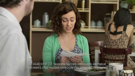 allstate commercial actress bonus check allstate safe driving bonus check tv spot superior