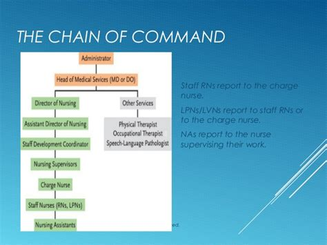 nursing chain of command pictures to pin on