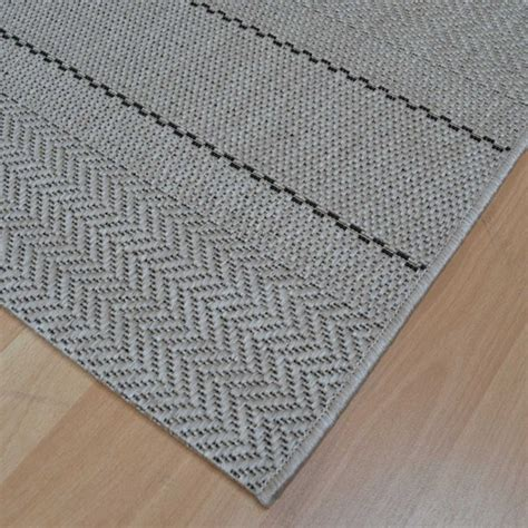 Outdoor Rugs Uk Patio Flatweave Rugs Pat03 Stripe Beige Free Uk Delivery The Rug Seller