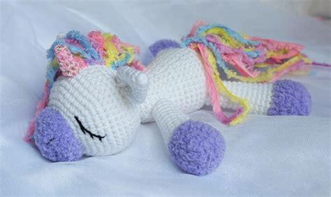 crochet pattern free unicorn sleeping unicorn pony crochet pattern amigurumi today