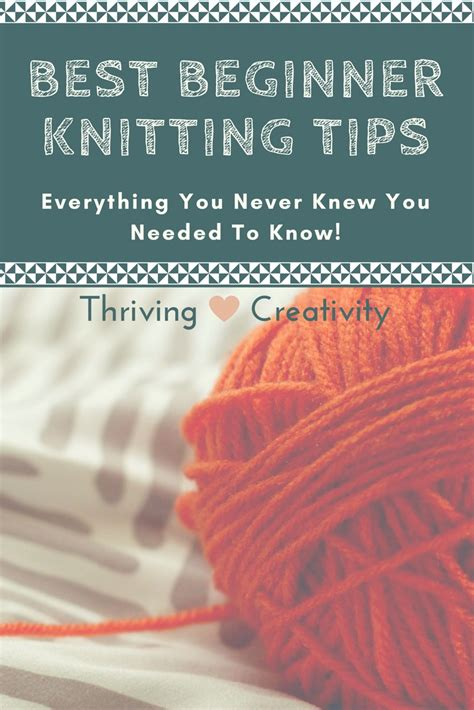 knitting tips beginner knitting tips what you really need to