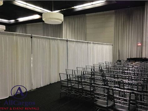 how to make a pipe and drape backdrop allcargos tent event rentals inc pipe drape backdrop