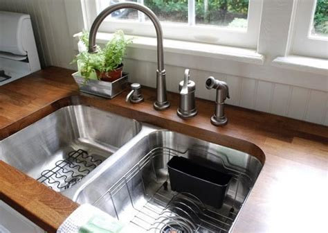 Kitchen Undermount Sink 6 Things You Need To About Undermount Kitchen Sinks Kitchn