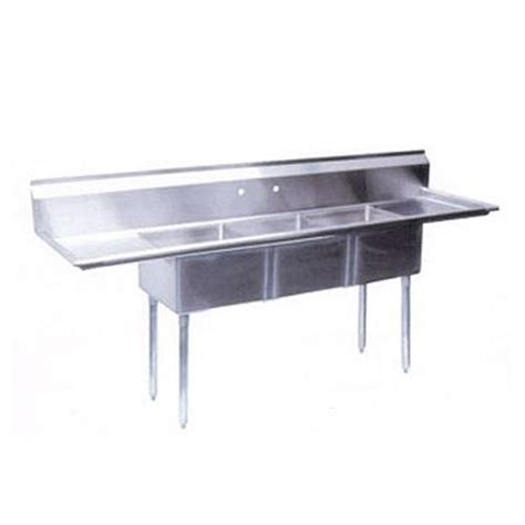 3 compartment sink price turbo air tsb 3 d2 72 in three compartment sink etundra
