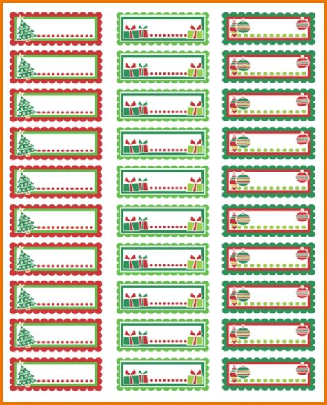 christmas return address labels template invitation template