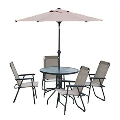 garden umbrellas table chairs