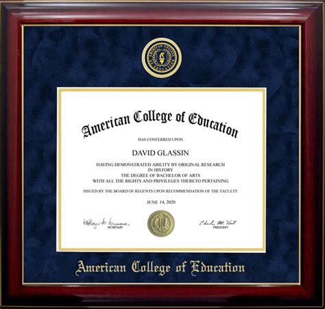 touro university designer diploma frame wordyisms american college of education designer diploma frame