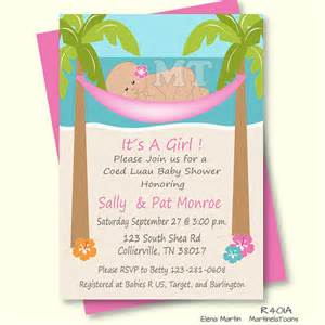diy tropical baby shower invitation hawaiian baby invitation hibiscus flowers and