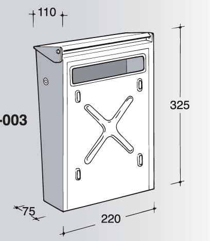 silmec cassette postali cassetta posta inox per recinzioni silmec 10 003 toolshop
