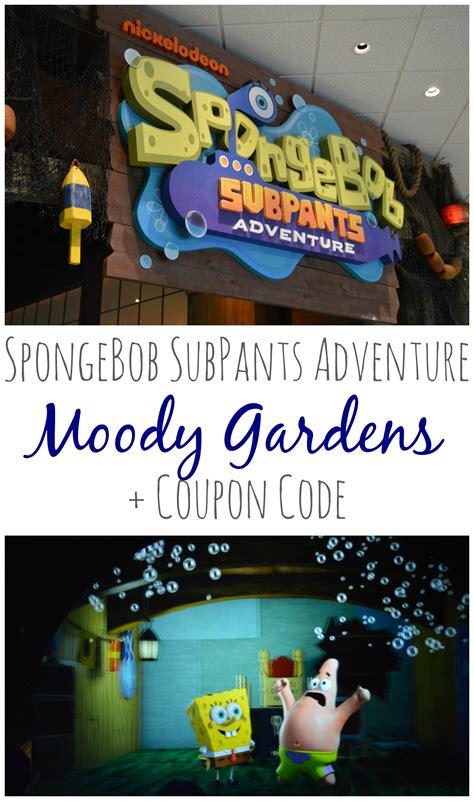 Moody Gardens Discount Tickets by Moody Gardens Spongebob Subpants Adventure Coupon Code Expired Big Happy