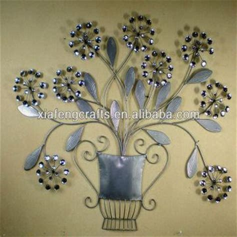 cheap home wall decor metal flower ornament wall decor cheap home decor
