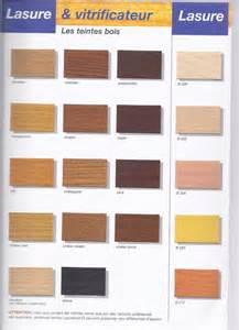 nuancier de couleurs de lasure opaque de lasure et de