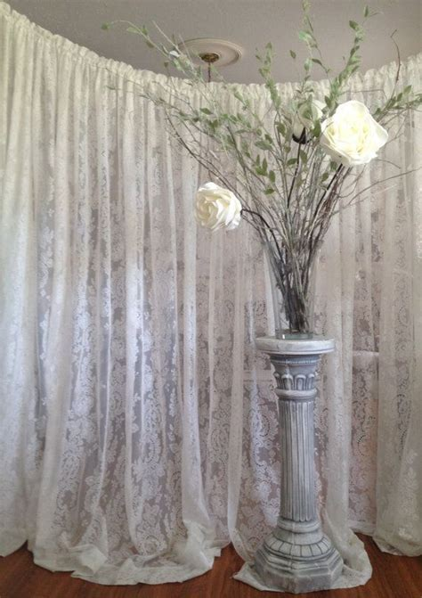 Lace Wedding Backdrop, Ready to Ship Lace Backdrop, Rustic