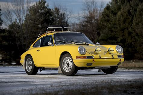 porsche 911 rally auction block 1967 porsche 911 2 0 s rally hiconsumption