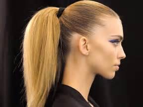 ponytail hairstyles for ponytail hairstyles 2012 for women stylish eve