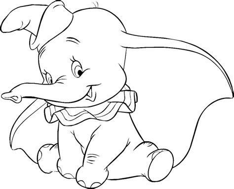kinderzimmer bild dumbo dumbo elephant coloring pages for printable