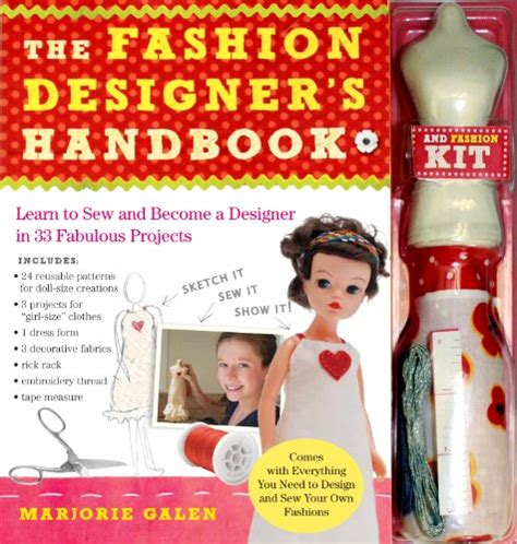 fashion design kit for adults the fashion designer s handbook fashion kit learn to