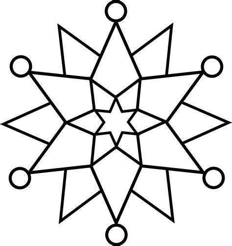 dibujos colorear estrellas navidad archivos estrellas colorear