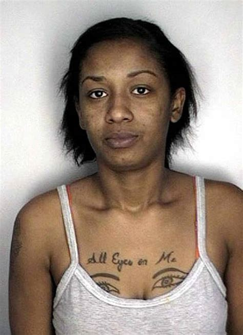 random tattoo placement 21 mugshot tattoos that will creep you the heck out