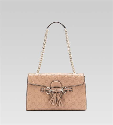 Gucci Single Bag Bn178 11 gucci emily antique guccissima leather shoulder bag
