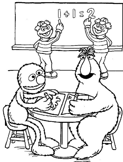 coloring book pages sesame sesame coloring pages coloring pages to print