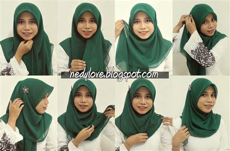 tutorial jilbab najwa cara memakai tudung bawal cara pakai tudung bawal labuh