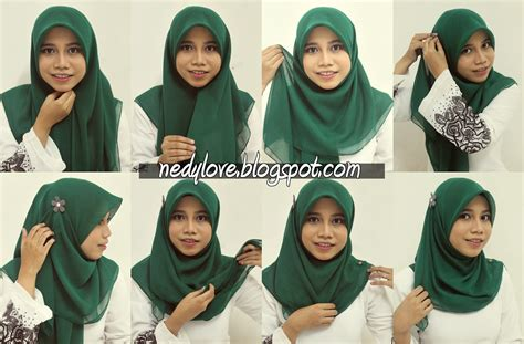 tutorial jilbab najwa latif snr s diary hijab tutorial 3