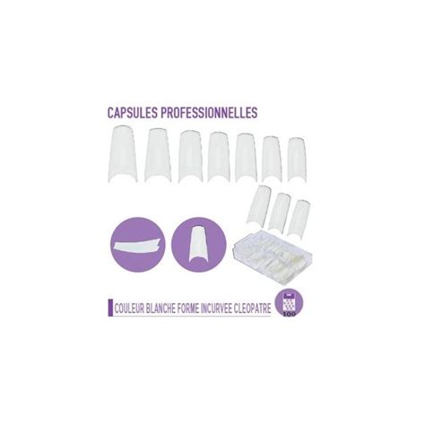 Capsule Faux Ongles by Achat Pas Cher Capsules Professionnelles Faux Ongles Forme