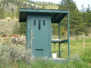 Build Your Own Outdoor Shower - ode to the outhouse