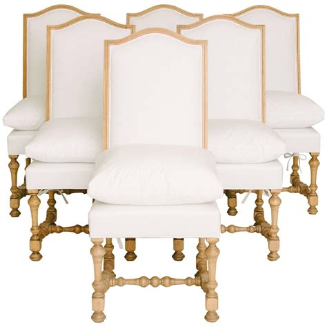 Louis Xiv Dining Chairs Set Of Six 19th Century Louis Xiv Style Dining Chairs For Sale At 1stdibs