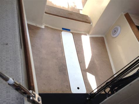 Soverel Racing Sailboat with New Cork Cabin Sole   SeaCork