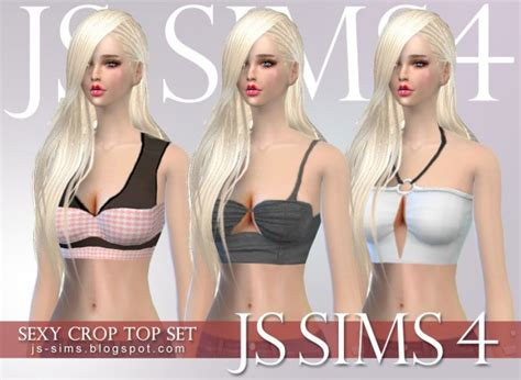 Best Home Decor Sites by Js Sims 4 Crop Top Set Sims 4 Downloads