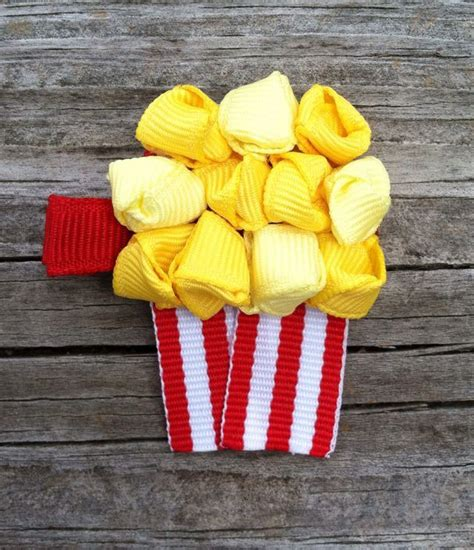 popcorn hair 1000 images about bows barrettes and hair clips on